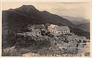 Summit House & Chin - Mount Mansfield, Vermont VT Postcard