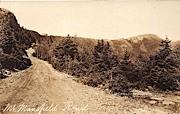 Dirt Road - Mount Mansfield, Vermont VT Postcard