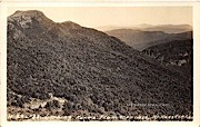Looking North, Top o Nose - Mount Mansfield, Vermont VT Postcard