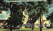 Catholic Church of Christ the King - Rutland, Vermont VT Postcard