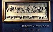 The Last Supper - Rutland, Vermont VT Postcard