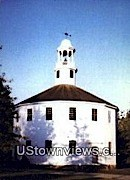 Old Round Church - Richmond, Vermont VT Postcard