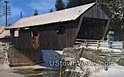 Three Old Covered Bridges, Lamoille Co - Johnson, Vermont VT Postcard