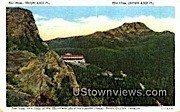 The Nose, The Chin, Summit House - Mount Mansfield, Vermont VT Postcard