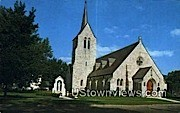 Christ the King RC Church - Rutland, Vermont VT Postcard
