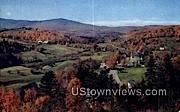 Mount Snow - West Dover Village, Vermont VT Postcard