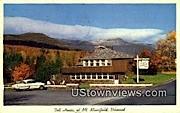 Toll House - Mount Mansfield, Vermont VT Postcard