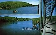 Connecticut River - Brattleboro, Vermont VT Postcard