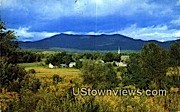 Countryside - Mount Mansfield, Vermont VT Postcard