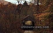Old Covered Bridge - West Townshend, Vermont VT Postcard