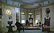 French Drawing Room, Wilson Castle - Rutland, Vermont VT Postcard