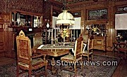 Italian Renaissance Dining Room, Wilson Castle - Rutland, Vermont VT Postcard