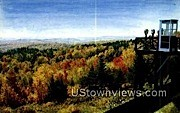 Hogback Mountain - Brattleboro, Vermont VT Postcard