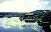 West River, Highway Bridge - Brattleboro, Vermont VT Postcard