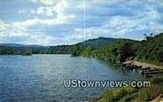 West River, Boat Docks - Brattleboro, Vermont VT Postcard