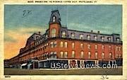 Hotel Brooks & the Pickwick Coffee Shop - Brattleboro, Vermont VT Postcard