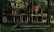 Crags Summer Res of Rev EA Slack - Brattleboro, Vermont VT Postcard
