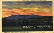 Mount Mansfield, VT     ;     Mount Mansfield, Vermont Postcard