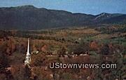 Stowe - Mount Mansfield, Vermont VT Postcard