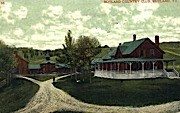 Rutland Country Club - Vermont VT Postcard