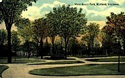 Main Street - Rutland, Vermont VT Postcard