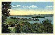 Prospect Point - Rutland, Vermont VT Postcard