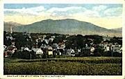 Pine Hill - Rutland, Vermont VT Postcard