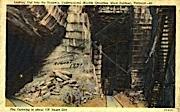 Undergroun Marble Quarry - Rutland, Vermont VT Postcard
