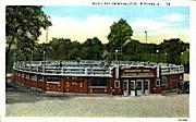 Municipal Swimming Pool - Rutland, Vermont VT Postcard
