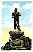 Green Mounain Boys Statue - Rutland, Vermont VT Postcard