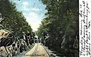 Summit Cut Rutland R. R. - Vermont VT Postcard