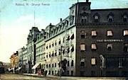 Strongs Avenue - Rutland, Vermont VT Postcard