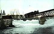 The Falls - Rutland, Vermont VT Postcard