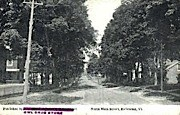 Main Street - Richmond, Vermont VT Postcard