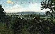 West Rock Park - Rutland, Vermont VT Postcard