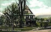 Old Ladies Home - Rutland, Vermont VT Postcard