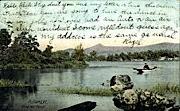 Pine Hill Pond - Rutland, Vermont VT Postcard