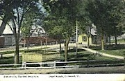 Depot Square - Richmond, Vermont VT Postcard