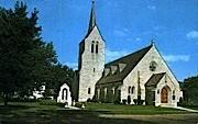 Christ the King R. C. Church - Rutland, Vermont VT Postcard