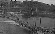 Railroad Flood Oct 22, 1907 - Rumerston, Vermont VT Postcard