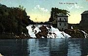 Falls - Vergennes, Vermont VT Postcard