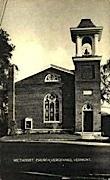 Methodist Church - Vergennes, Vermont VT Postcard