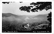 Beacon Hill - West Townshend, Vermont VT Postcard