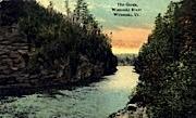 Winooski River - Vermont VT Postcard