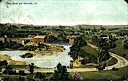 Lower Road - Winooski, Vermont VT Postcard