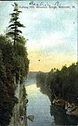 Rollway Hill - Winooski, Vermont VT Postcard