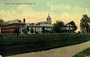 Fanny Allen Hospital - Winooski, Vermont VT Postcard