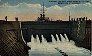 Puget Sound Navy Yard - Bremerton, Washington WA Postcard