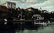 Bremerton Waterfront - Washington WA Postcard