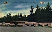 Shorewood Motel - Bremerton, Washington WA Postcard